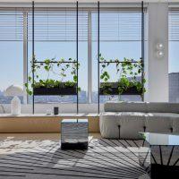 Het luxe kantoor van vastgoedinvesteerdersbedrijf Memocorp