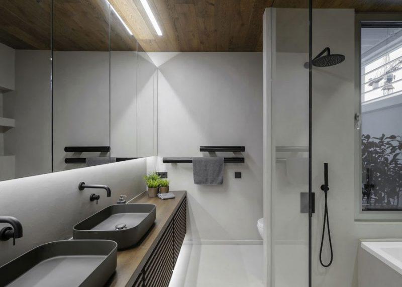 luxe moderne badkamer ensuite