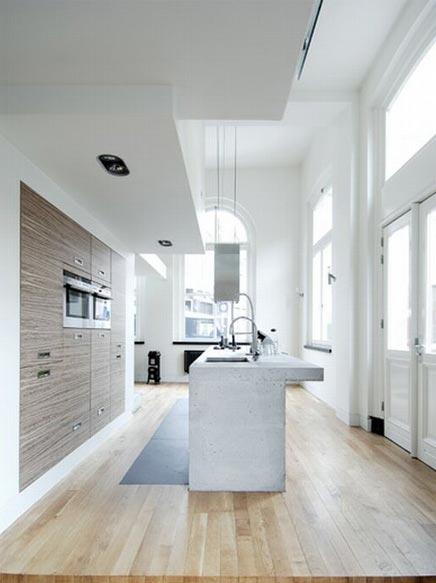 Luxe eigentijds en sfeervol loft appartement in haarlem for Loft appartement