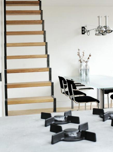 Badkamer Nis Schuifdeur ~ Luxe, eigentijds en sfeervol loft appartement in Haarlem  Inrichting