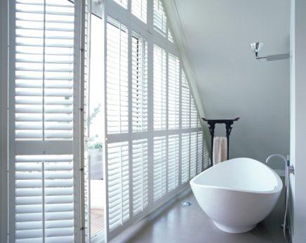 Luxe shutters badkamer