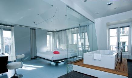 Luxe slaapkamer van The Kube Hotel | Inrichting-huis.com