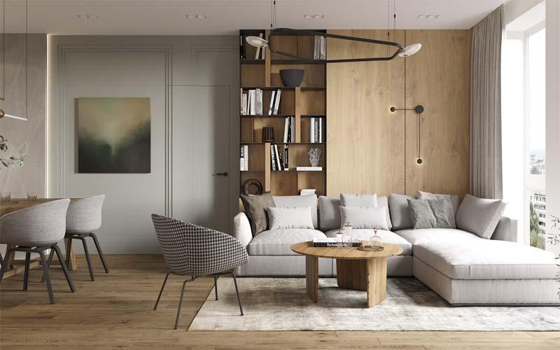 luxe spotjes plafond woonkamer