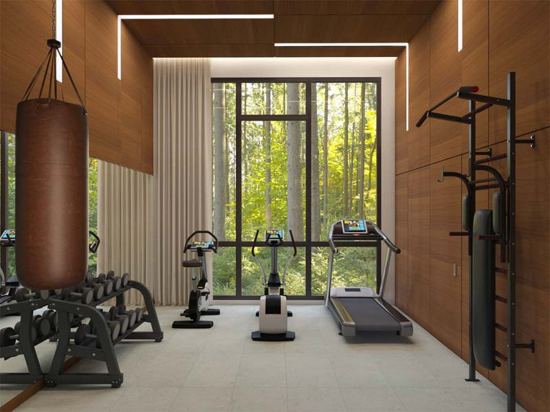 luxe thuisgym