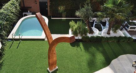 Schommel Voor Tuin : Luxe tropische tuin in rotterdam inrichting huis