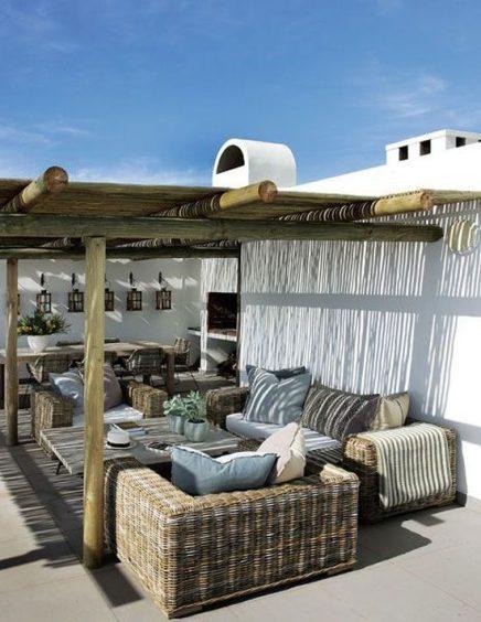 Luxe zonwering binnen en buiten inrichting for Ideas terrazas economicas