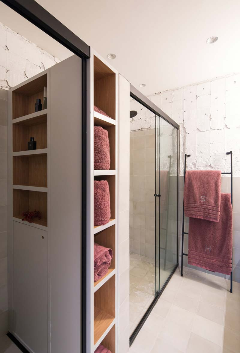 maatkast mooie badkamer