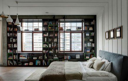 Maatwerk open boekenkast