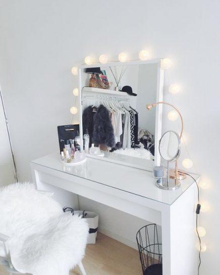 10x make up tafel inspiratie inrichting. Black Bedroom Furniture Sets. Home Design Ideas
