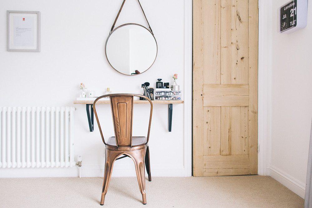 Make up tafel inspiratie inrichting huis