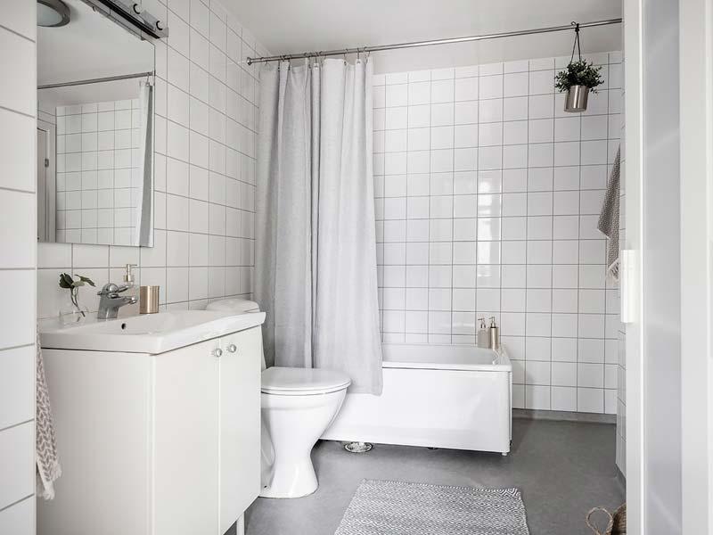 mamerleum vloer badkamer