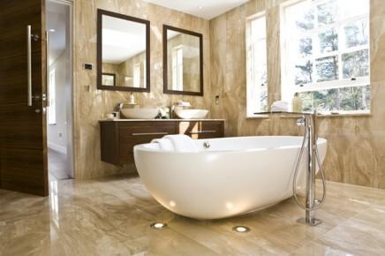 Marmor badezimmer mit Strahlern und Swarovski | Wohnideen ...