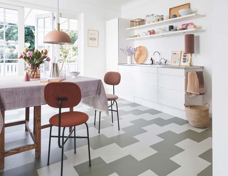 marmoleum click keuken