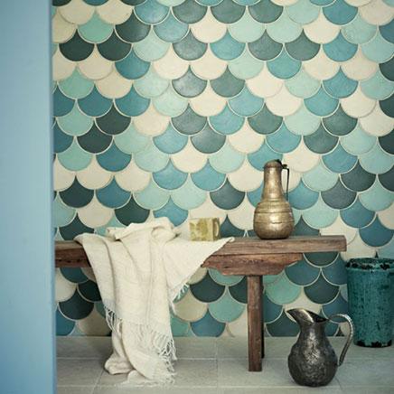 Marokkaanse badkamer tegels  Inrichting-huis.com