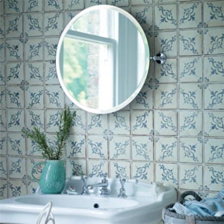 Marokkaanse badkamer tegels | Inrichting-huis.com
