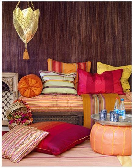 Marokkaanse interieur ideeen