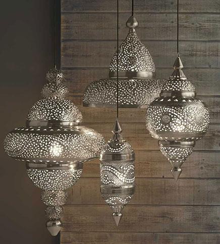 Fonkelnieuw Marokkaanse lampen in huis | Inrichting-huis.com YV-74