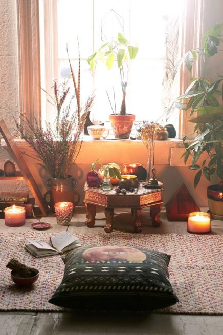 Meditatieruimte inrichten