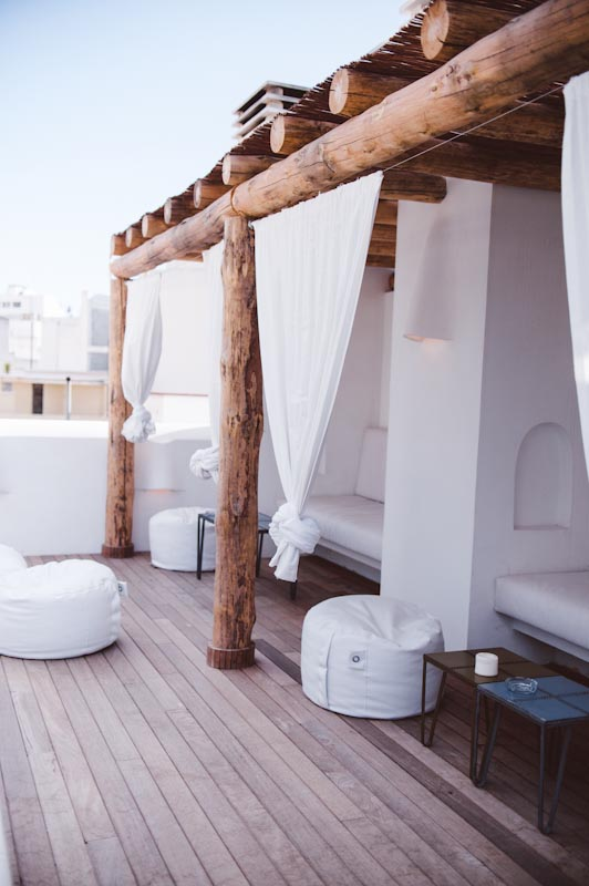 Mediterraans dakterras inspiratie inrichting for Cortinas de terrazas en patio