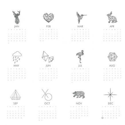 MelindaWoodDesigns kalender 2016