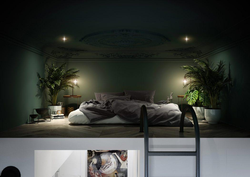 mezzanine-slaapkamer-klein-appartement