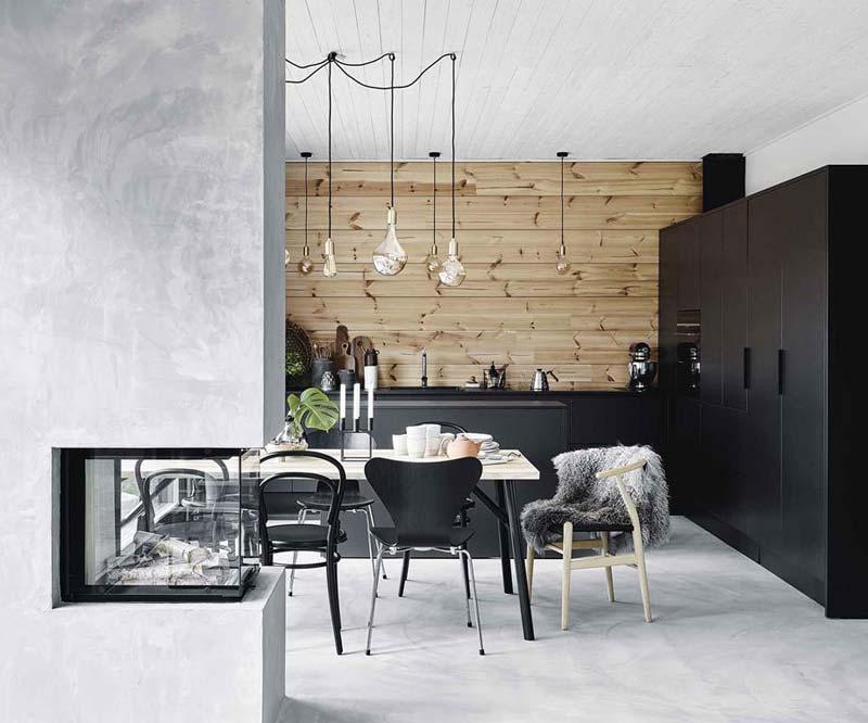 De milieuvriendelijke houten woning van Marjo en Eetu in Scandinavische stijl