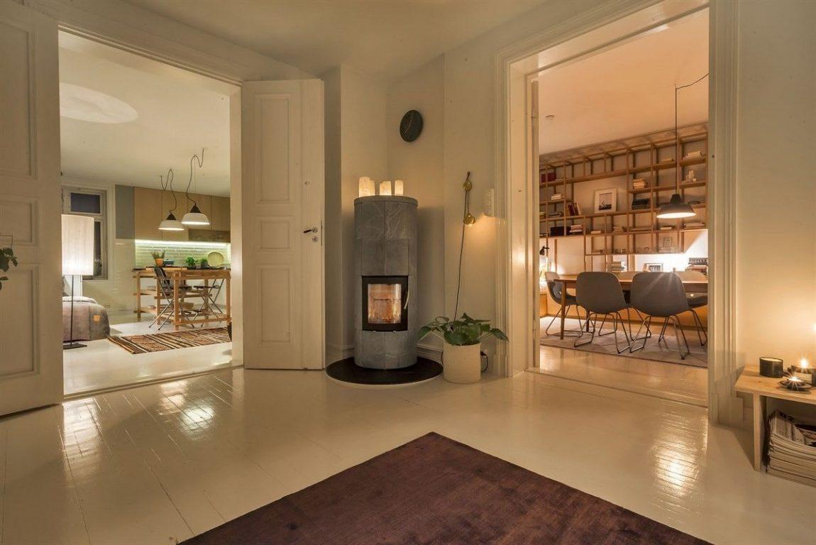 Minimalistisch mooie woonkamer uit oslo inrichting huis