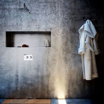 Minimalistische 3d badkamer ontwerpen inrichting for Inrichting huis ontwerpen