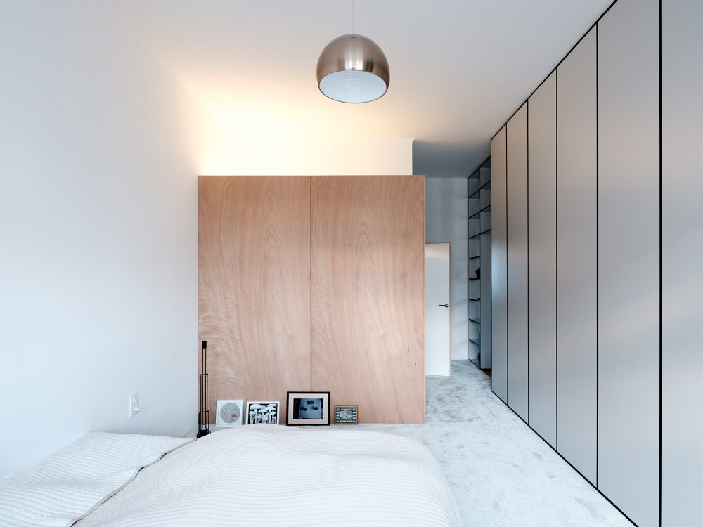 minimalistische-loft-slaapkamer