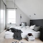 Minimalistische slaapkamer ideeën van Anna-Malin