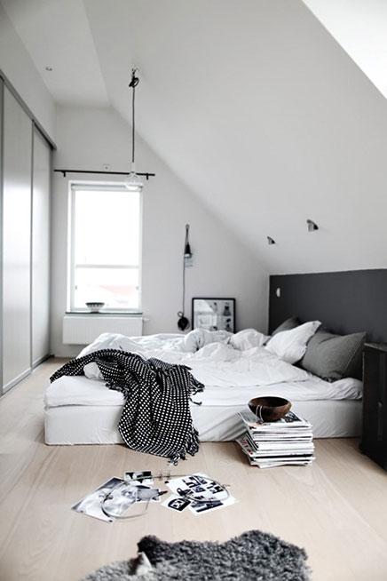 Minimalistische slaapkamer ideeën van Anna-Malin | Inrichting-huis.com