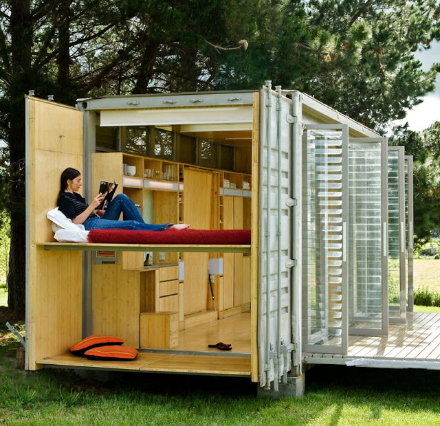Mobiele containerwoning