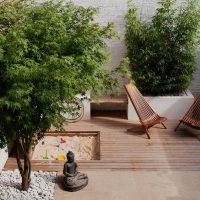 Modern intiem en kindvriendelijk tuinontwerp