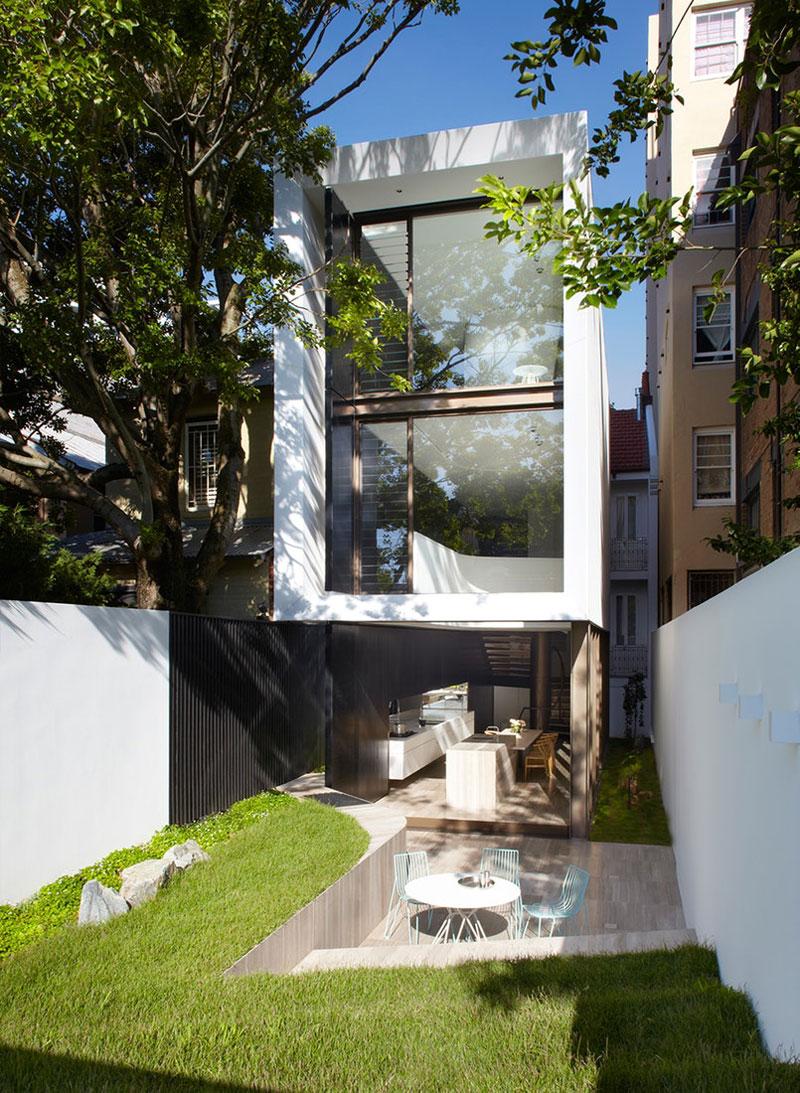 modern trapvormig tuinontwerp