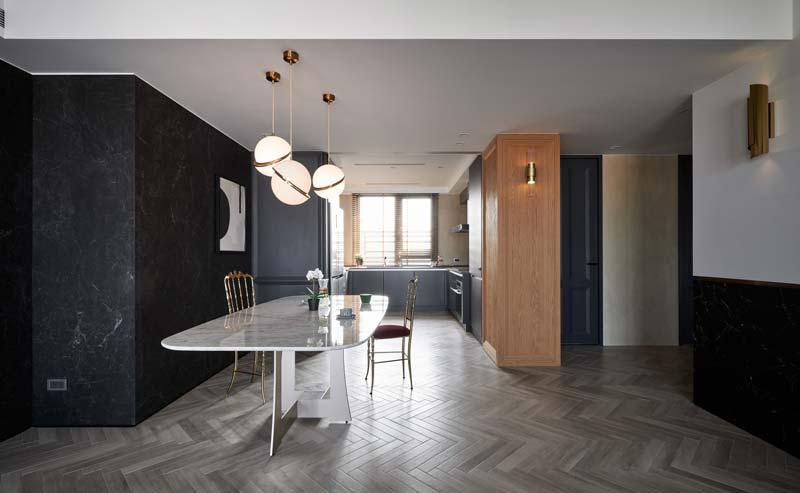 modern vintage open keuken