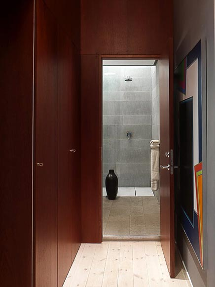 Moderne badkamer met 2 regendouches