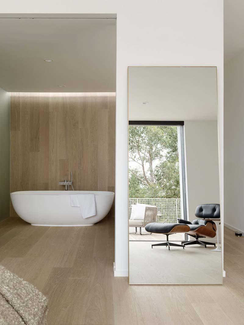 moderne badkamer inbouwspots