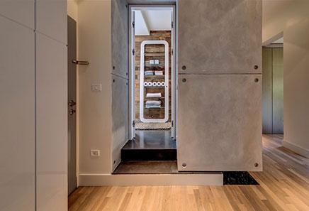 Moderne badkamer in miljoenenhuis