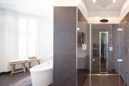 Moderne Badkamer Miljoenenhuis : Moderne badkamer in kralingen rotterdam inrichting huis