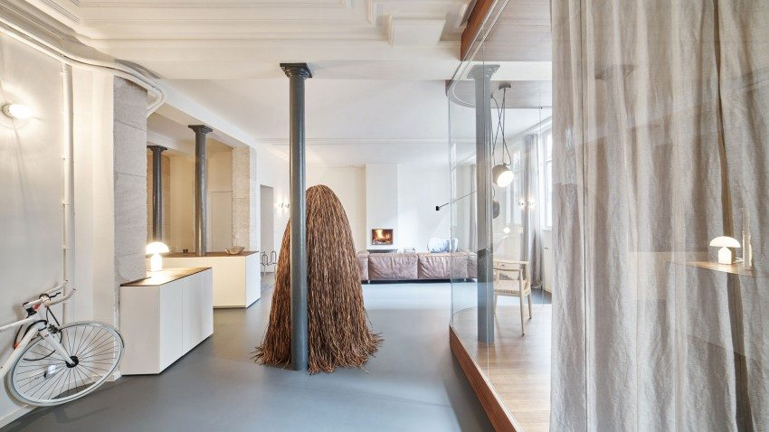 Moderne industri le loft in parijs inrichting - Keuken industriele loft ...