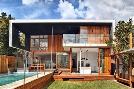 Moderne inrichting van castlecrag residence inrichting - Eigentijdse patio meubels ...