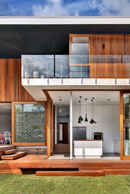 Moderne inrichting van Castlecrag Residence