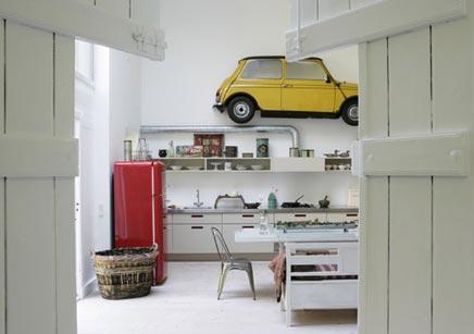 Moderne inrichting van je keuken met antieke details
