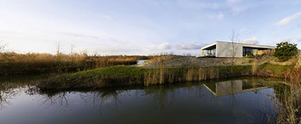 Moderne interieur inrichting royale design villa in Breda te koop