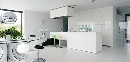 moderne interieur inrichting royale design villa in breda