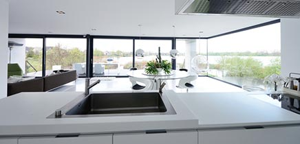 Moderne interieur inrichting royale design villa in Breda te koop ...
