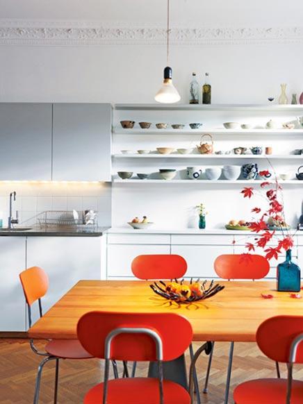 Moderne keuken in klassieke inrichting