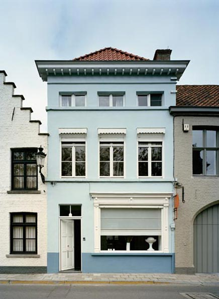 Moderne, klassieke woninginrichting in Brugge