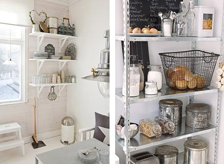Rvs accessoires woonkamer