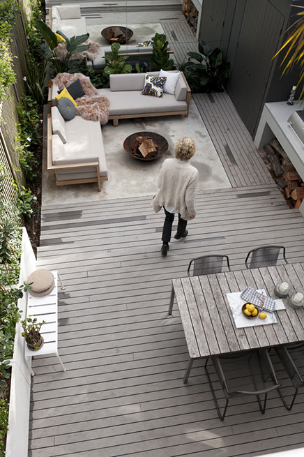 Moderne loungetuin door anna carin design inrichting - Tuin interieur design ...